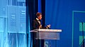 Dustin Lance Black at the 2012 Human Rights Campaign National Dinner (8062619106).jpg