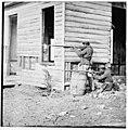 Dutch Gap, Virginia. Picket station of Colored troops near Dutch Gap canal LOC cwpb.01929.jpg