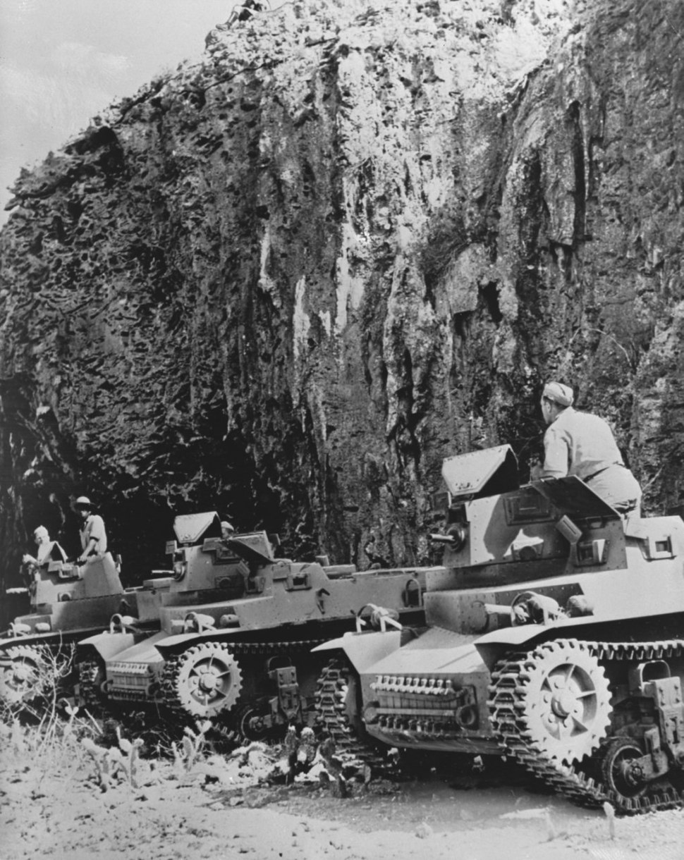 Dutch military exercises on Curaçao during World War II