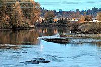 Duwamish River - North Wind's Weir at dusk 01.jpg