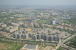 Dwarka - Residential Area - Aerial View