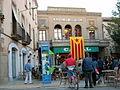 E19 Plaça de Santa Anna, amb el Casal al fons.jpg