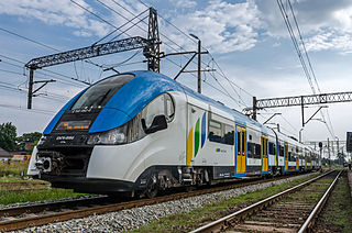 Pesa SA train manufacturer has its headquarters in Bydgoszcz