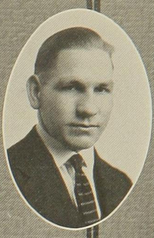 E. R. Cowell - Cowell pictured in Royal purple 1921, Kansas Agricultural yearbook