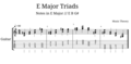E Major Triads II.png