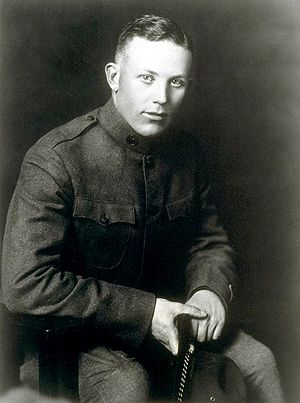 Earl Warren - Warren as a U.S. Army officer in 1918