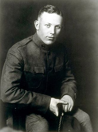 Earl Warren - Warren as a U.S. Army officer in 1918