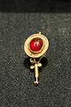 Earring, gold, Syrian garnet, 1-2 c AD, Prague Kinsky, NM-HM10 745-746, 151358.jpg