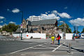 Earthquake damaged ChristChurch Cathedral, Oct 2013.jpg