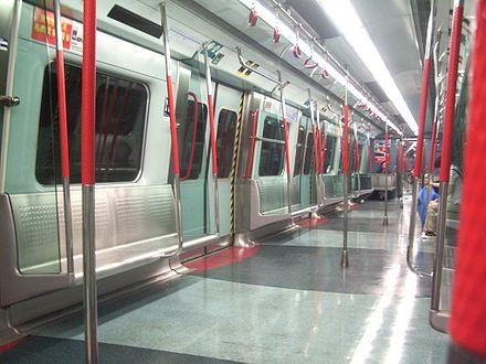 interior of a refurbished metro cammell emu on the east rail line. Black Bedroom Furniture Sets. Home Design Ideas