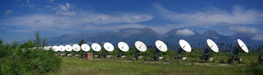 Сибирский солнечный радиотелескоп на территории Радиоастрофизической обсерватории «Бадары» Института солнечно-земной физики СО РАН