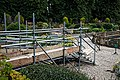 Easton Lodge Italianate Garden scaffolded walkway, Little Easton, Essex, England.jpg