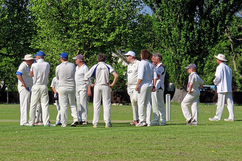 File:Eastons CC v. Chappel and Wakes Colne CC at Little Easton, Essex, England 39.jpg
