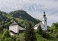 Ebenthal Gurnitz Propstei und Pfarrkirche hl Martin 22042016 1725.jpg