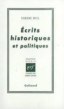Primera edición deEscritos históricos y políticos.