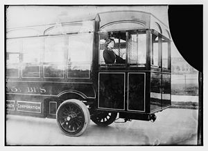 Electric bus - Edison electric bus from 1915