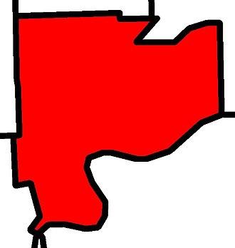 Edmonton-Highlands-Norwood - Image: Edmonton Highlands Norwood electoral district 2010