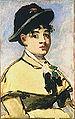 Edouard Manet,, Jeune femme a la pèlerine.jpg