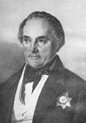 Eduard Heinrich von Flottwell - With Order of the Black Eagle, c. 1861