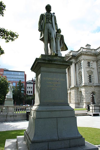 Harland and Wolff - Statue of Edward James Harland in the grounds of Belfast City Hall