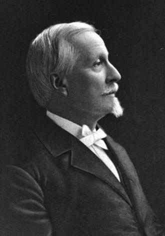 Edward Virginius Valentine - Profile portrait of Edward Valentine