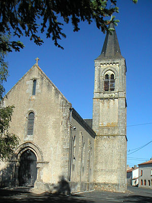 La Chapelle-Gaudin - The church in La Chapelle-Gaudin