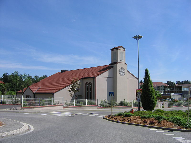 A meetinghouse of The Church of Jesus Christ of Latter-day Saints in Gex, France