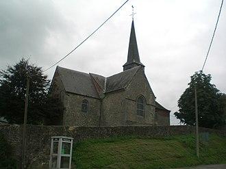Dimechaux - Image: Eglise dimechaux 2