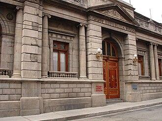 Congress of Guatemala - Image: El Congreso de la República