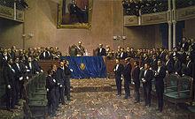 220px El General Roca ante el Congreso Nacional