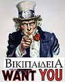 El Wikipedia poster humoristic 1.jpg