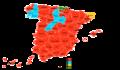 Elecciones generales españolas de 1982 - distribución del voto.png