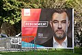 Election poster of Luxembourg general election, 2018 (LSAP) Fayot.jpg