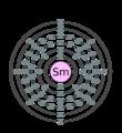 Electron shell 062 samarium.png