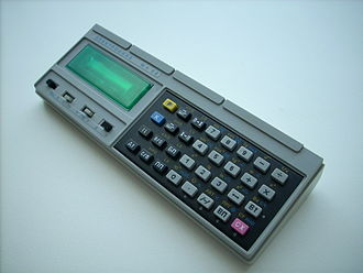 Programmable calculator - Image: Elektronika MK 52