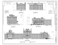 Elevations - National Home for Disabled Volunteer Soldiers, Northwestern Branch, Hospital, 5000 West National Avenue, Milwaukee, Milwaukee County, WI HABS WI-360-F (sheet 5 of 6).png