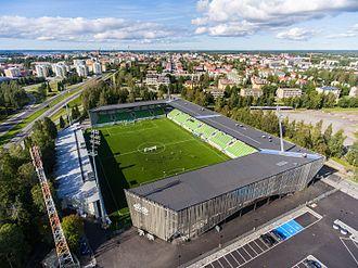 Hietalahti Stadium - Image: Elisa Stadion
