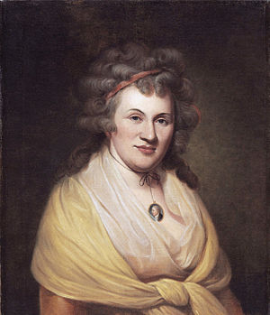 Franklin Peale - Elizabeth de Peyster Peale, by her husband Charles, who is seen in miniature