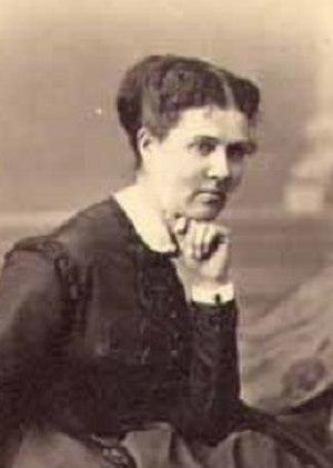 Schuyler Colfax - Ellen M. Wade, wife of Schuyler Colfax