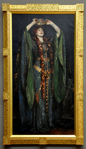 Ellen Terry as Lady Macbeth - Image: Ellen Terry as Lady Macbeth with frame