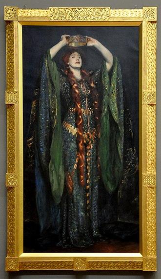 Ellen Terry as Lady Macbeth - Image: Ellen Terry as Lady Macbeth with frame