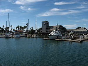 Leaving Ventura Harbor for Santa Cruz Island i...