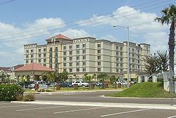 Laredo is the destination for many Mexican shoppers that come from as far away as Mexico City. Due to Laredo's location new hotels have been built around the city such as the Embassy Suites.