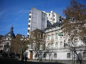 Avenida Alvear - French (left) and Brazilian Embassies