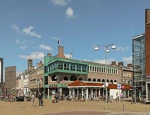 Emmeloord - Image: Emmeloord, straatzicht Beursstraat De Deel foto 1 2013 04 28 15.04