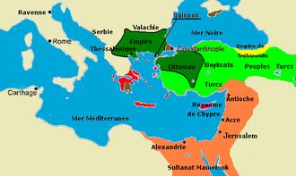 Histoire de l'Empire byzantin — Wikipédia