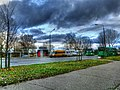 End Of The Ezerkrast II City MicroArea And M Kempes Street - Bus Station - panoramio.jpg