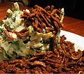 Endive Mash with Lamb Shawarma (2163709403).jpg