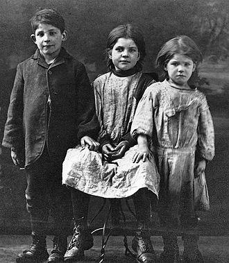 Goose Village - Goose Village children, c. 1910