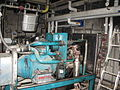 Engine to generate elecricity and heat from biogas (CHP unit (combined heat and power)) (3092936251).jpg